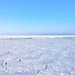 生まれて初めての凍った海